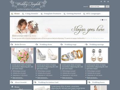 JM Wedding05 Joomla Photography Template