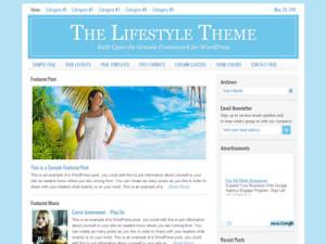 Lifestyle Child Wordpress Travel Theme