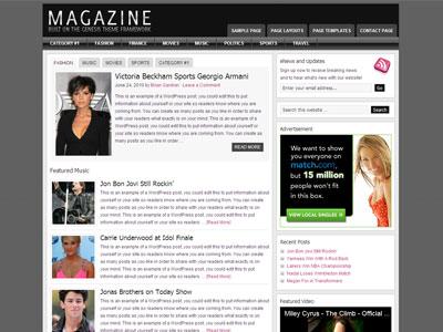 Magazine Child Theme for WordPress