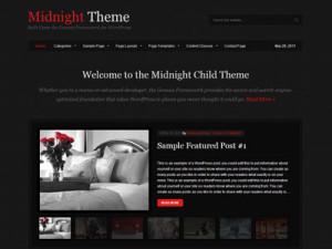 Midnight Child Wedding Theme