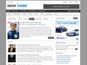News Child Theme for Genesis Framework
