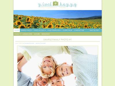 Pixel Happy Child Photography Theme