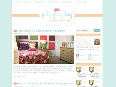 Pretty Child WordPress Theme for Magazine