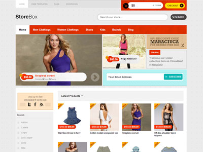 StoreBox Wordpress eCommerce Theme for Selling Cloth Shop Store with ...