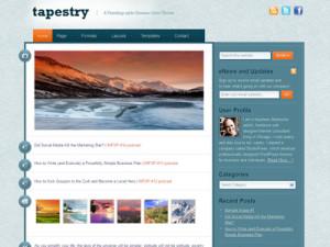 Tapestry Child Wordpress Blogging Theme