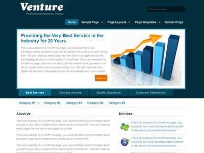 Venture Child WordPress Business Theme