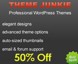 50% Theme Junkie Discount Coupon Code