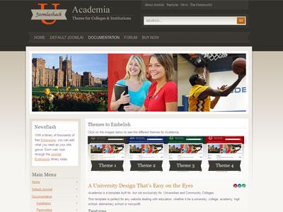 Academia Joomla Education Template