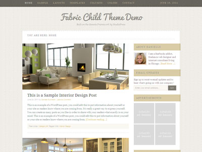 Fabric 1.0 Child Interior Design Theme