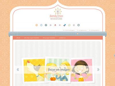 Family Tree Child WordPress Theme