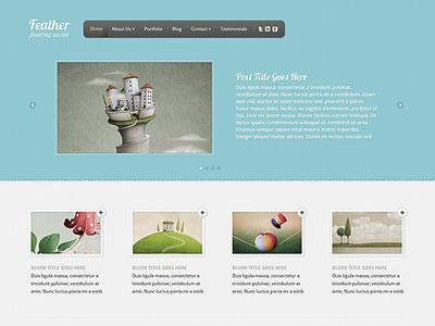 Feather WordPress Web Agency Theme