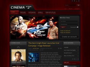 IT Cinema 2 Joomla Template | Joomla Film Template for Movies Review | IceTheme