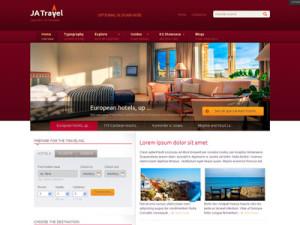 JA Travel Joomla Guide Template