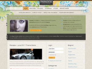 Paradox WordPress Theme