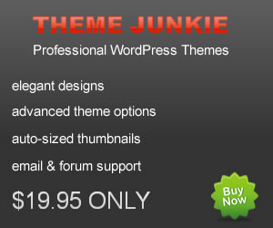 Theme Junkie Discount Coupon Code