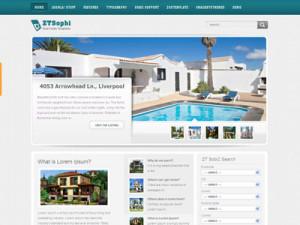 ZT Sophi Joomla Real Estate Template
