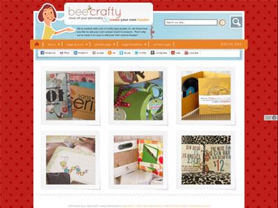 Bee Crafty Child Photo Showcase Theme