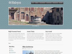 Halcyon Joomla Template