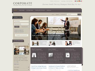 IT Corporate Joomla 1.6 Business Template