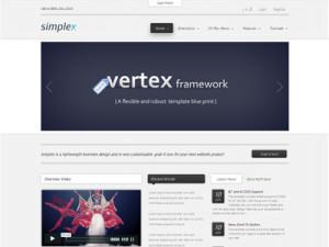 Simplex Joomla Fast Loading Template
