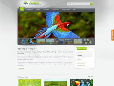 ZT Kaupi Joomla Photo Galleries Template
