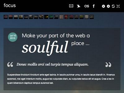 Focus Joomla Mobile Device Template