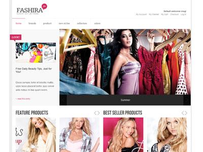 JA Fashira Magento Fashion Store Theme