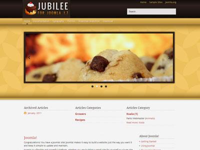 Jubilee Free Joomla 1.7 Template