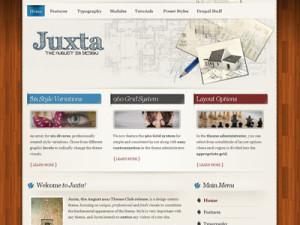 Juxta Drupal Magazine Theme