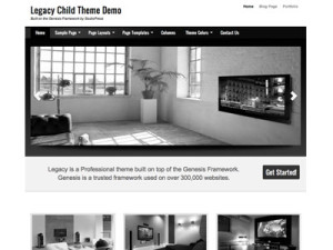 Legacy 1.0 Child Wordpress Theme