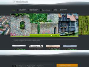 Maelstrom Wordpress Portfolio Theme