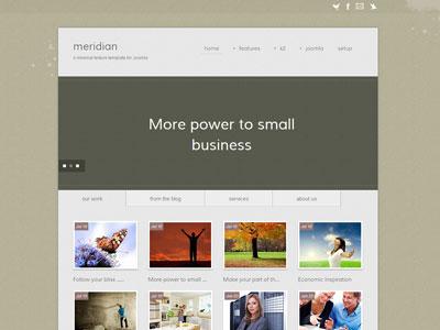 Meridian Joomla Business Template