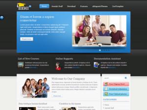 ZT Hemi Joomla Education Template