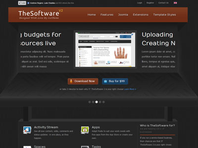IT TheSoftware 2 Joomla Template