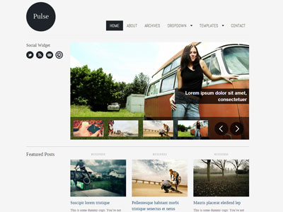 Pulse Wordpress Magazine Theme
