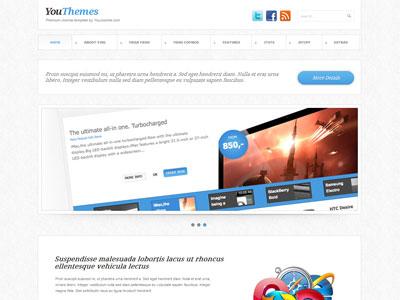 YouThemes Joomla Web Portfolio Template