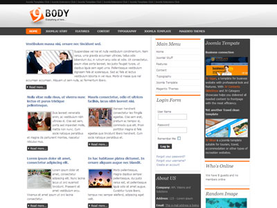 jv nicebody free joomla premium template for business portfolio, Powerpoint templates
