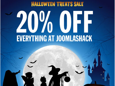 JoomlaShack Products Halloween Sale