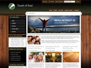 Touch of Soul Wordpress Church Theme