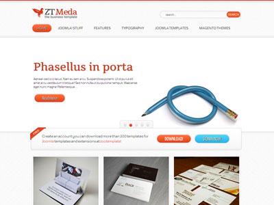 ZT Meda Joomla Business Portfolio Template