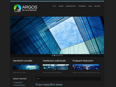 Argos joomla template joomla minimalist business template with argos joomla minimalist business template wajeb Images