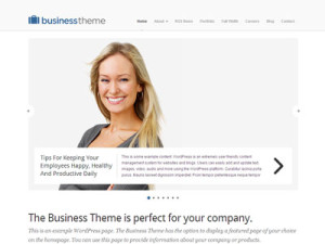 Business Wordpress Company Theme