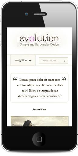 Evolution WordPress Responsive Theme