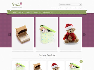 JM Garis Magento Christmas Store Theme