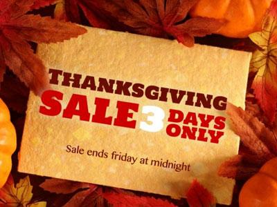 JoomlaShack Thanksgiving Day