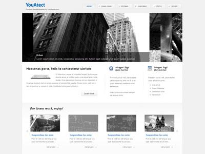 YouAtect Joomla Template for Online Portfolio| Joomla Architect ...