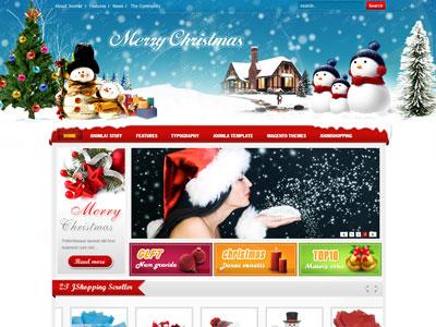 ZT Merry Joomla Christmas Template