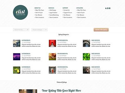 Elist wordpress directory theme wordpress online business elist wordpress directory theme accmission Images