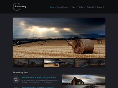 Kerrong Joomla Photography Template