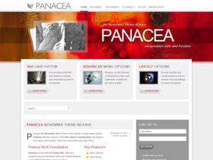 Panacea Drupal Theme | Premium Drupal 7 Theme with 960 Grid System